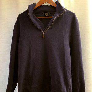Club Monaco Half-Zip Cotton Sweater